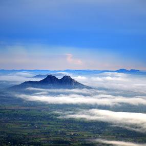 by Subramanya Padubidri - Landscapes Cloud Formations