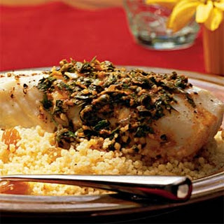 Halibut with Charmoula