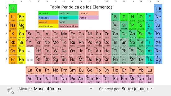 Elementary tabla peridica aplicaciones en google play captura de pantalla urtaz Image collections