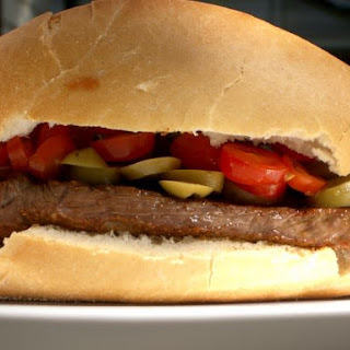 Moroccan Steak Sandwich