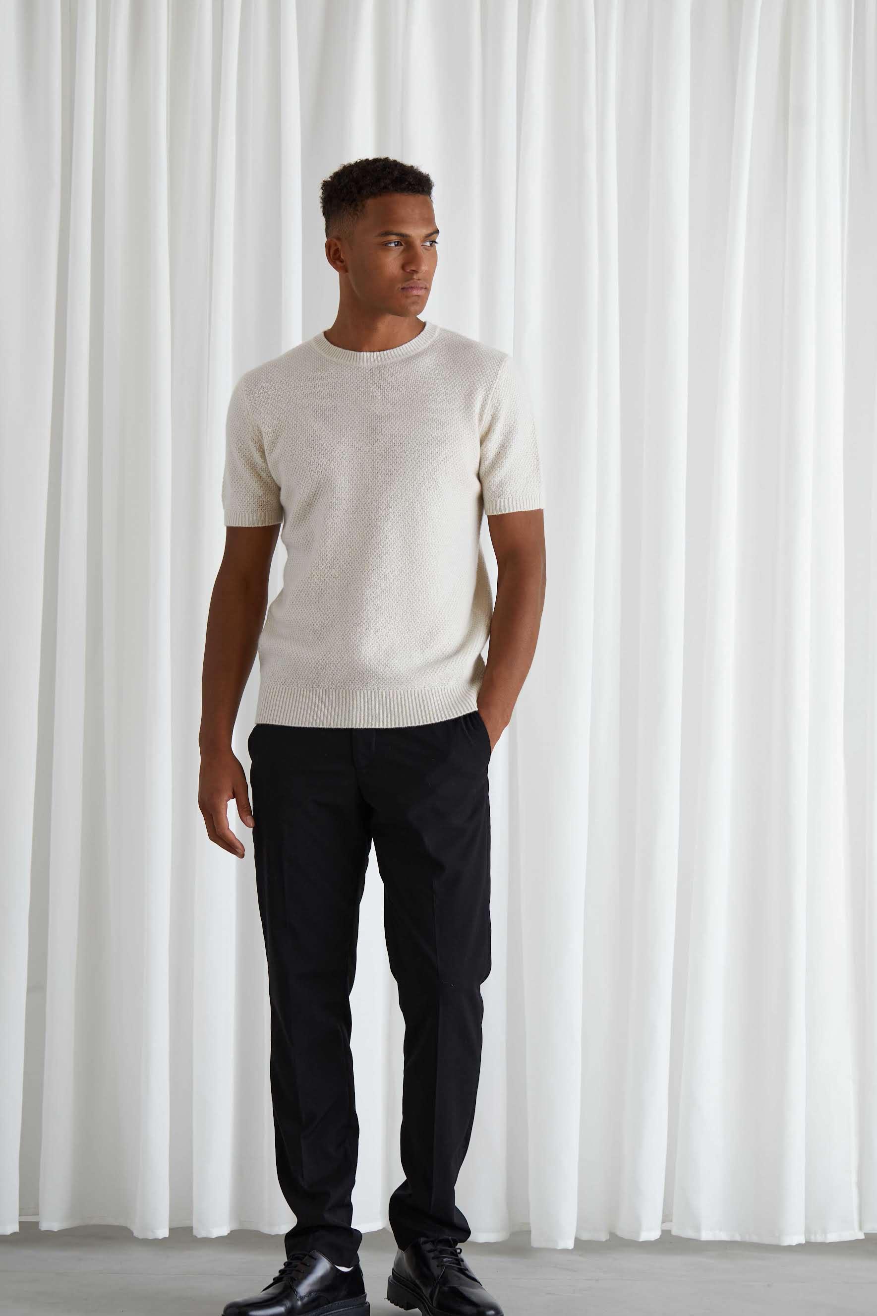 Man Textured T-shirt