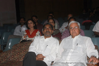 Photo: Shri Yamaji Malkar and Shri. Ram Takawale.