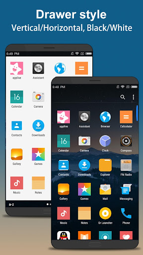 P 9.0 Launcher - Android™ 9.0 Pie Launcher ? 3.4.1 screenshots 2