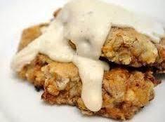 Fried Chicken With Jalapeno Cream Gravy