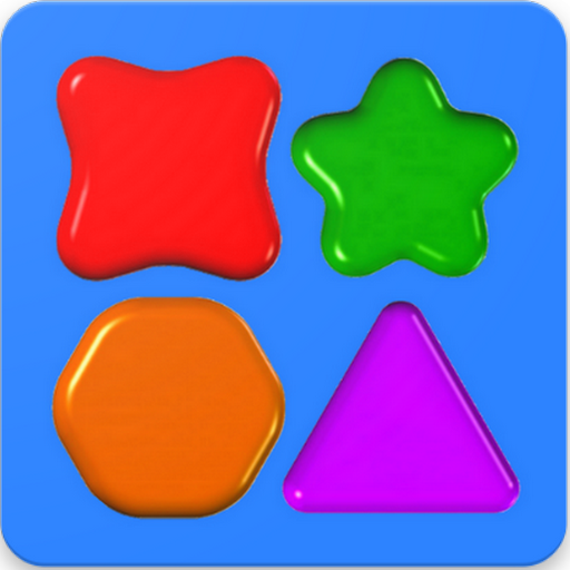 Shapes Puzzles - Letters And Numbers