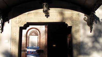 "Photo: ""Zidita in anul 1795. Restaurata si pictata intre anii 1951-1958"" (2012.08.28)"