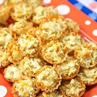 Artichoke Parmesan Bites.
