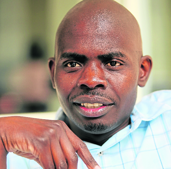 The DA's Makashule Gana. Picture: SUNDAY TIMES/SIMON MATHEBULA.