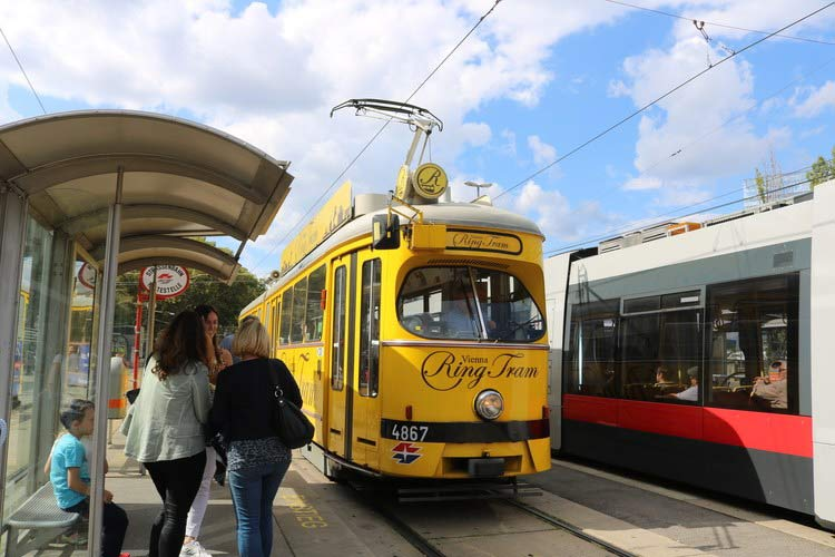 The Ring Tram costs about $10 for a 20-minute ride around Vienna's city center.