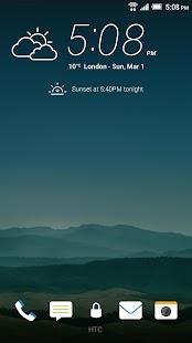 HTC Lock Screen Screenshot 2