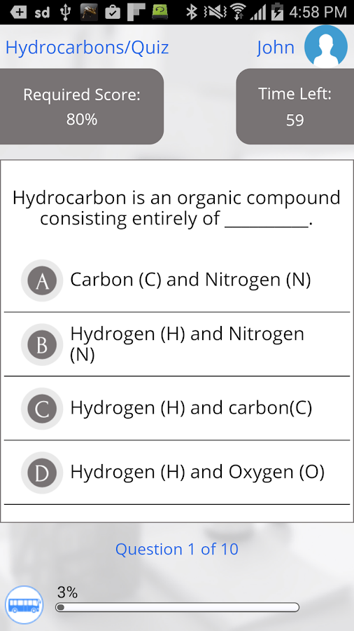 Learn Organic Chemistry- screenshot