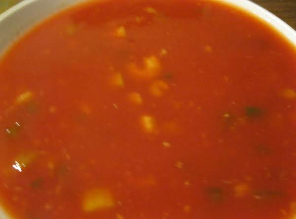 Cold Shrimp Soup Recipe
