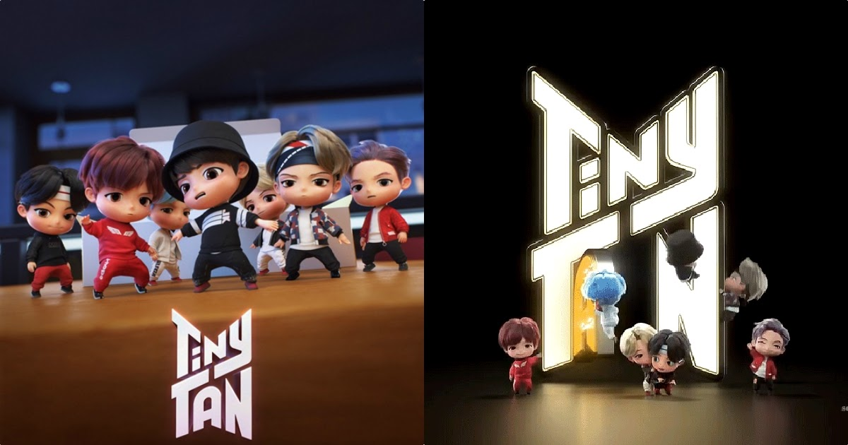 Big Hit Entertainment Officially Launches Bts Characters Tinytan