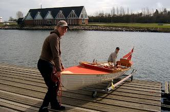 Photo: 2006 Kasserer Mette Utzon  og sekretær Hanne Gedsø, Odense Roklubs Venner