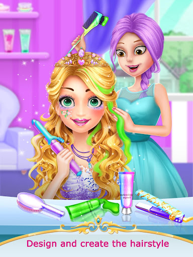Princess Salon 2 - Girl Games 1.3 screenshots 5