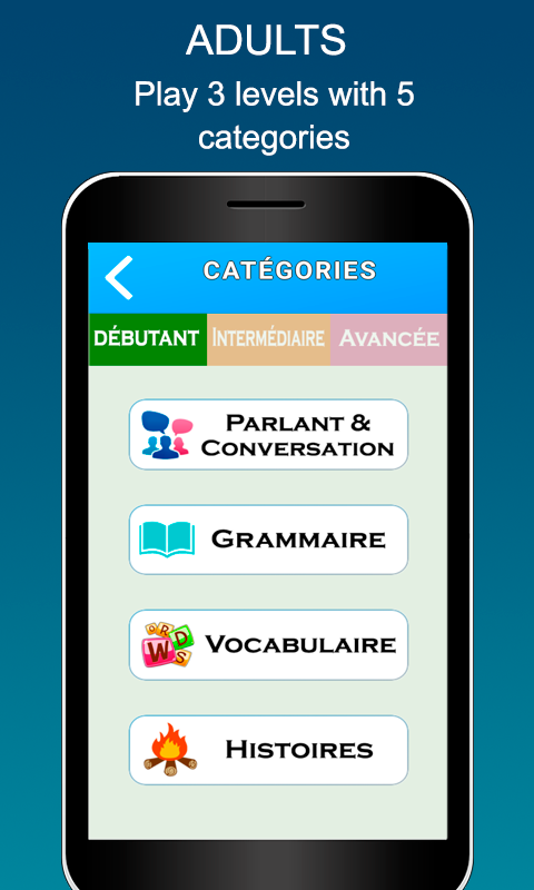 Videos French for Kids & Adults free- screenshot