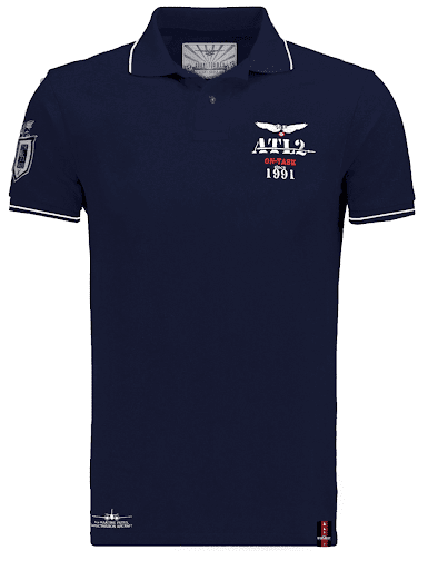 ATL2 made in france dassault aviation polo homme barnstormer