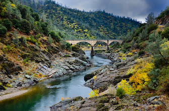 Photo: Stormy Day Along the American River by Barbara Matthews 347/365
