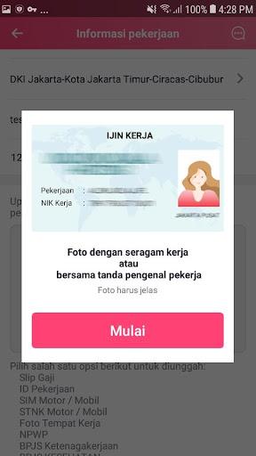 ALI Uang - Pinjaman Uang Tunai Mudah Flash Cepat screenshot 3