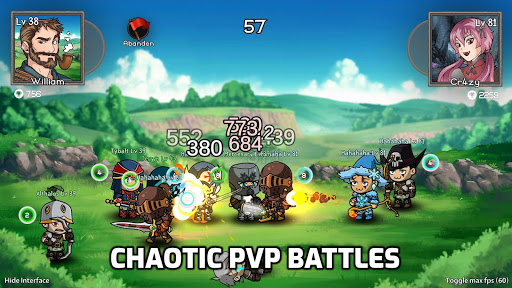Auto Battles Online - PVP Arena & Idle RPG apkpoly screenshots 4
