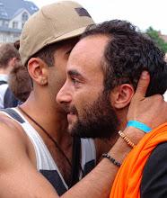 Photo: Peace, bro'.
