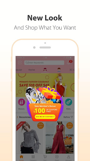 GearBest Online Shopping 4.1.0 screenshots 1