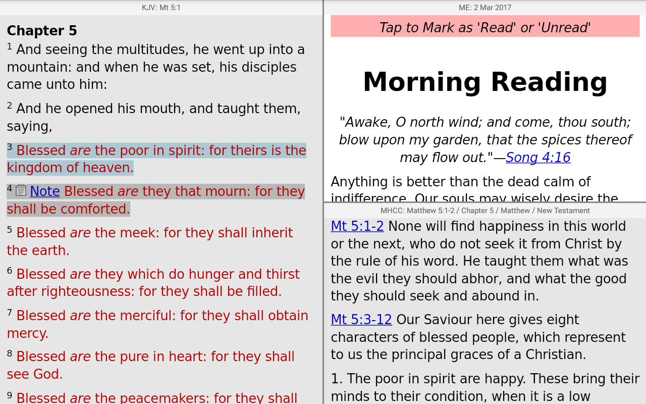 PocketBible Bible Study- screenshot