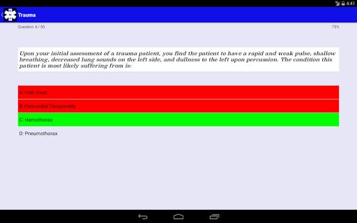 EMT Study - NREMT Test Prep screenshot 7