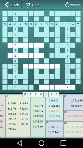 Astraware Number Cross screenshot 5