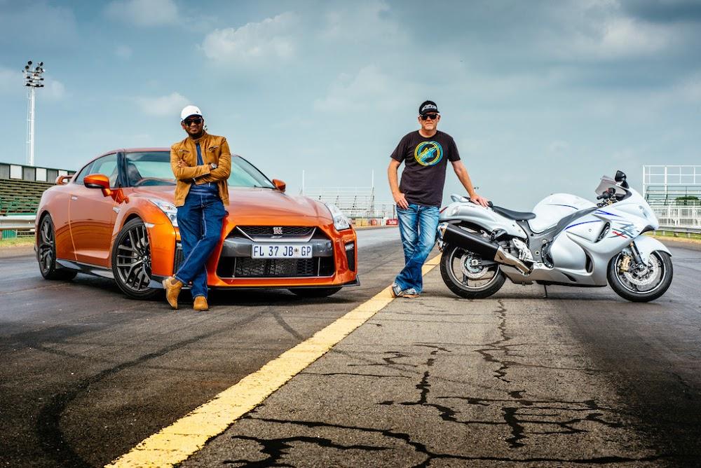 #ThrowbackThursday: Nissan GT-R vs Suzuki Hayabusa