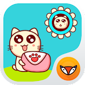 Lovely Cat - Launcher Theme