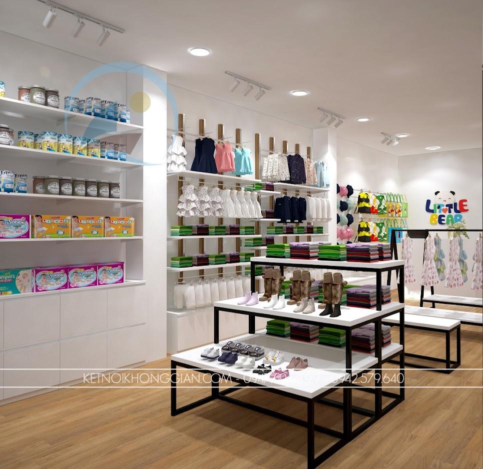 thiết kế shop thời trang trẻ em giá rẻ 4