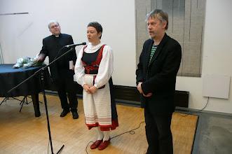Photo: Kanttorit kertovat runolaulumessun syntyajatuksista ja niiden toteuttamisesta. Kh Kari-Pekka Kinnunen haastattelijana.