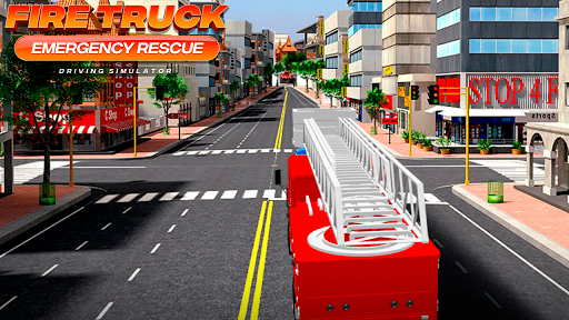 Fire Truck Emergency Rescue - Driving Simulator 1.0 screenshots 2