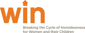 Women In Need Logo (WIN) - Breaking the Cycle of Homelessness for Women and their Children