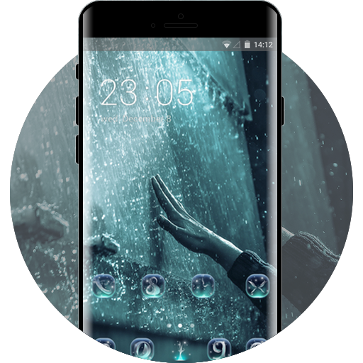 Theme for water drop wallpaper
