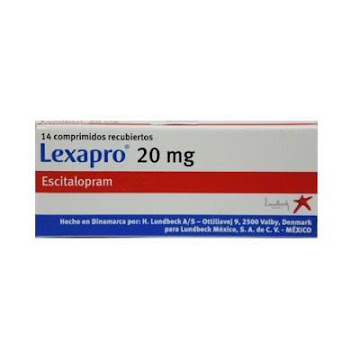 LEXAPRO 20MG COMPRIMIDOS