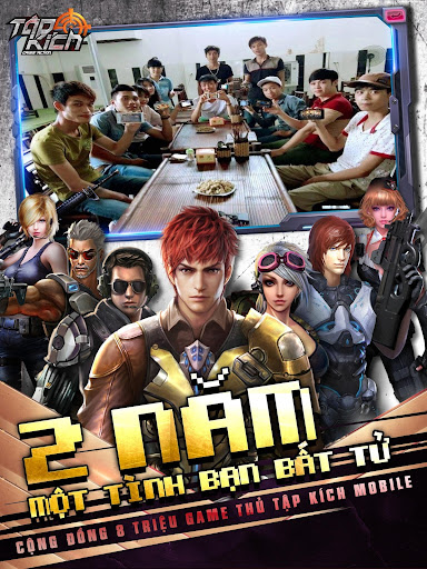 Tập Kích: Bắn súng đích thực game (apk) free download for Android/PC/Windows screenshot