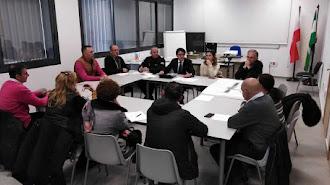 Reunión de concejales con directores de centros educativos.