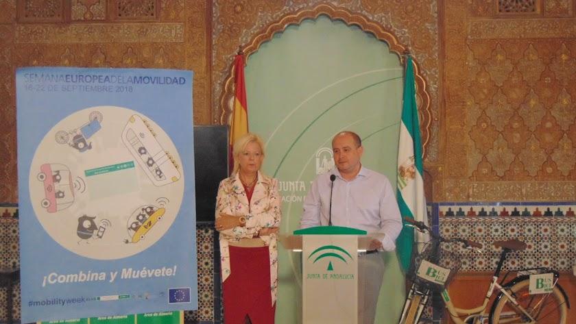 El delegado territorial de Fomento y Vivienda de la Junta de Andalucía en Almería, Antonio Martínez.