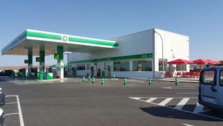 La Estación de Servicio Cabo de Gata está ubicada en la carretera de Retamar a San José.