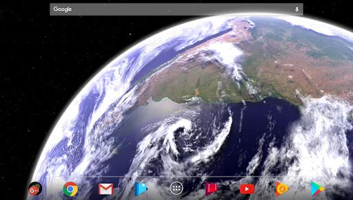 Earth & Moon in HD Gyro 3D Parallax Live Wallpaper 2.8 Screenshots 7