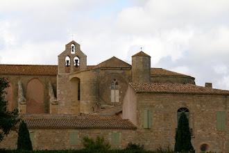 Photo: abdij de St Marie de Valemagne uit de 12e eeuw