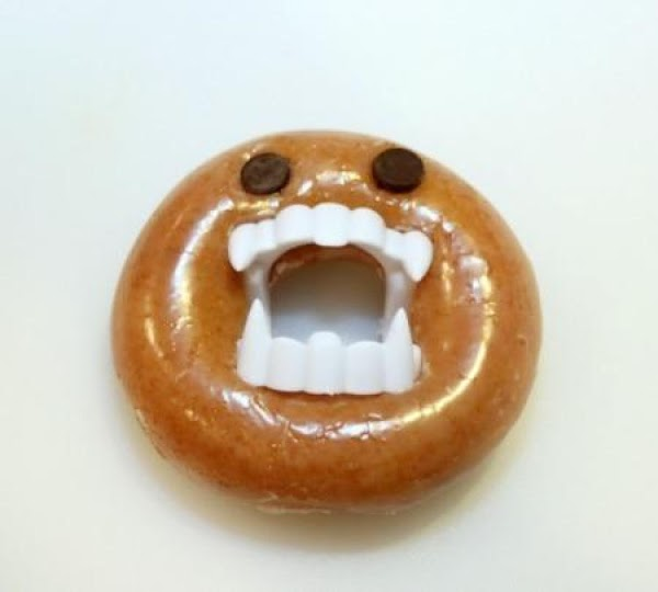 Easy Halloween Nasty Monster Donut Recipe