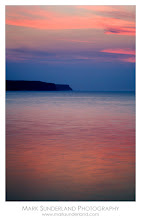 Photo: #ThirstyThursdayPics  Twilight  I thought I'd revisit Whitby for Thirsty Thursday - here's a shot across the bay from the West Pier taken shorty after the sun had set with lovely pink twilight reflecting off the water.  Canon EOS 5D, 24-105mm at 105mm, ISO 50, 3.2s at f22