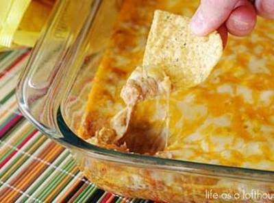 Texas Trash Warm Bean Dip Recipe