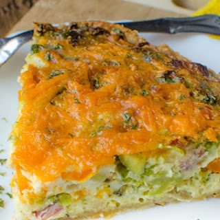 Ham Cheese Vegetable Quiche Recipes