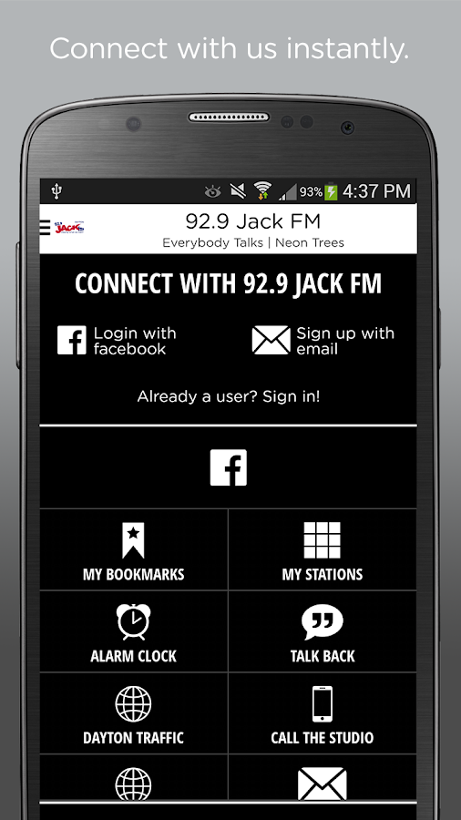92.9 Jack FM- screenshot