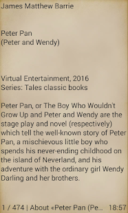 Peter Pan- screenshot thumbnail