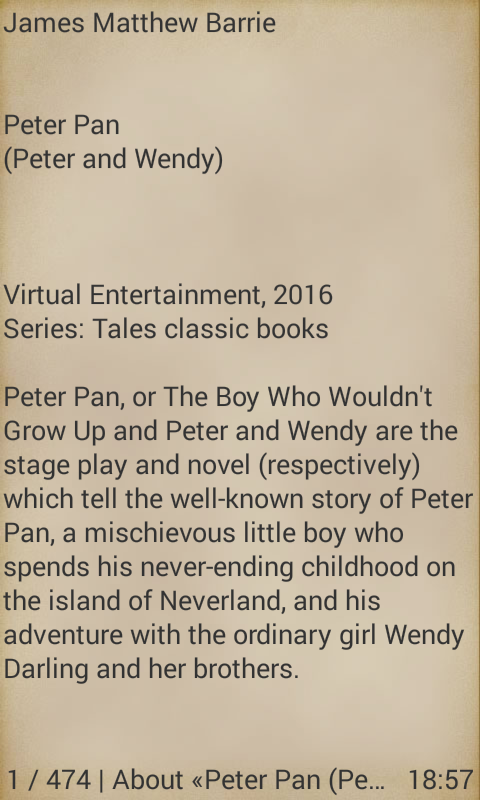 Peter Pan- screenshot